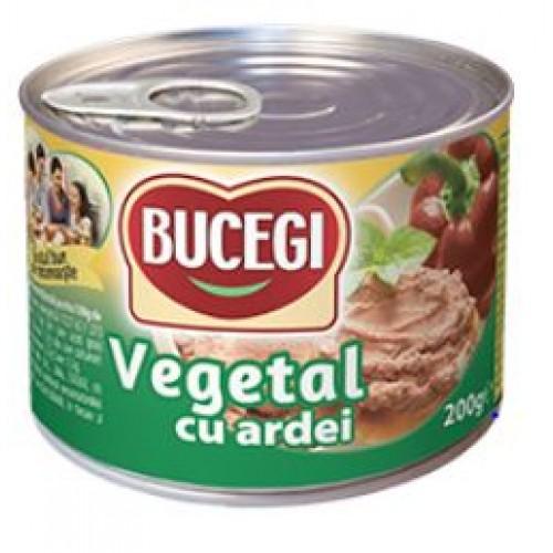 Bucegi Pasta vegetala tartinabila cu ardei 200g EO *48