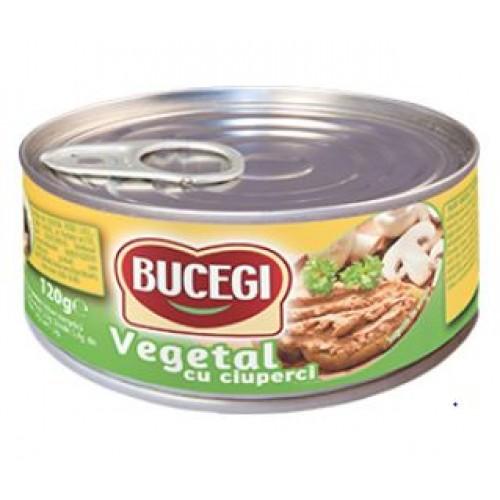 Bucegi Pastă vegetală tartinabilă cu ciuperci 120g EO *60