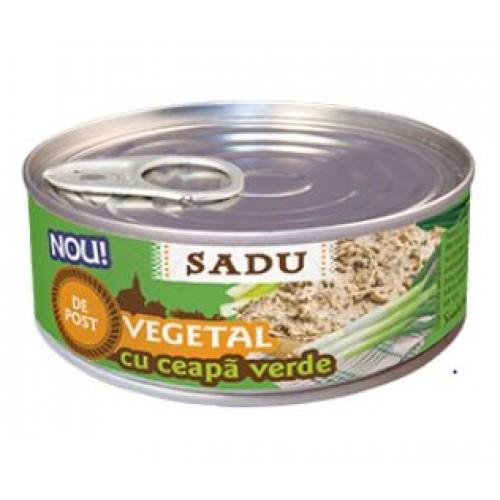 Sadu Pastă vegetală tartinabilă  cu ceapa verde100g EO *72