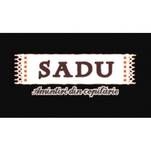 SADU Fasole cu carnati afumati 680g TO (borcan) *6