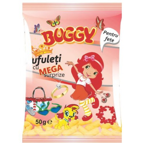 Buggy Pufuleti mega surprize Fete 50g *14