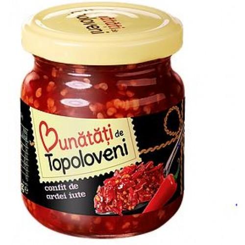 Bunatati de Topoloveni Confit de ardei iute 250g *6
