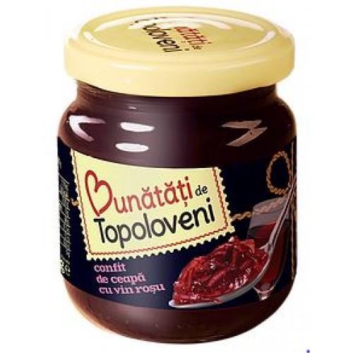 Bunatati de Topoloveni Confit de ceapa cu vin rosu 250g *6