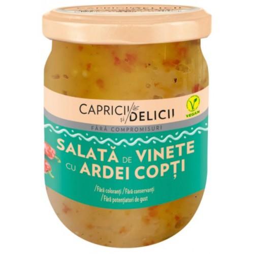 C&D Salata De Vinete  Cu Ardei Copt 250g *6