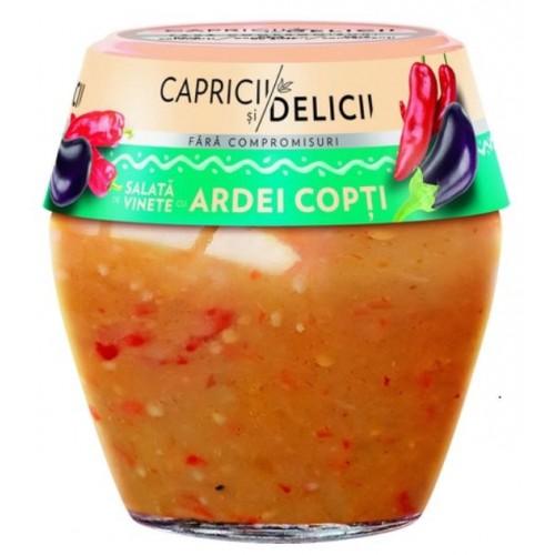 C&D Salata De Vinete Cu Ardei Copt 525g *6
