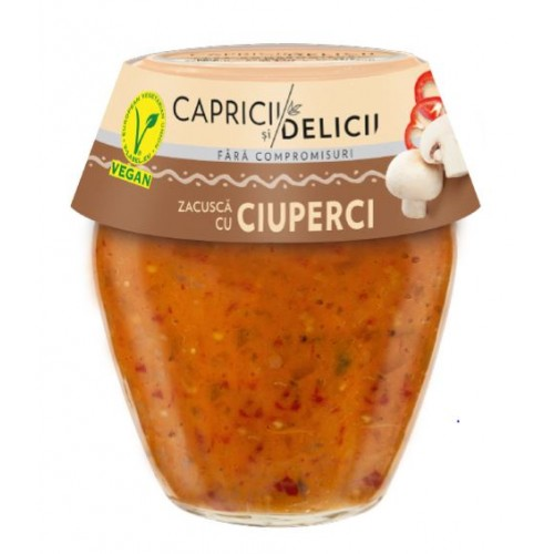 C&D Zacusca Cu Ciuperci 290g *6