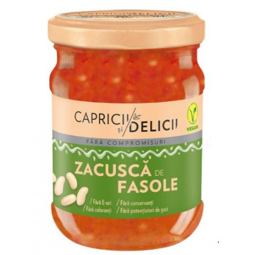 C&D Zacusca De Fasole 250g *6