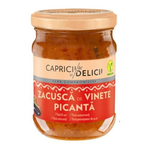 C&D Zacusca De Vinete Picanta 250g *6