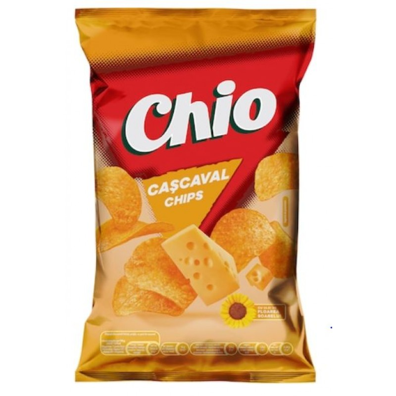 Chio Chips Caşcaval 65g *30