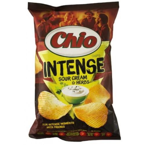 Chio Chips Intense Sourcream & Herbs 135g  *16
