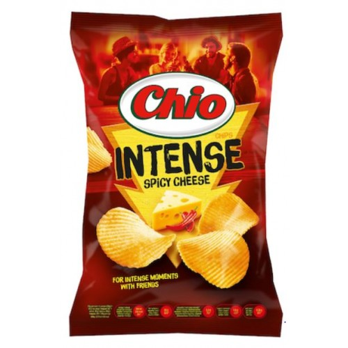 Chio Chips Intense Spicy Cheese 135g *16