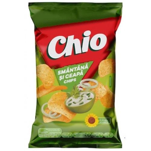 Chio Chips Smântână şi Ceapă 140g *16