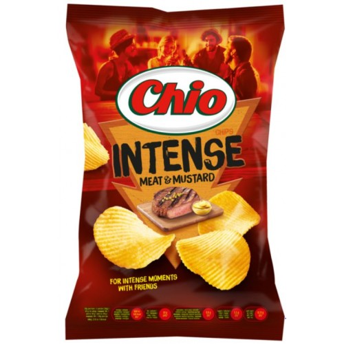 Chio Chips Vita si Mustar 125g *16