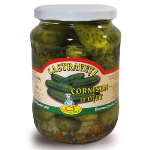 Conservfruct Castraveti in otet 6-9cm 720ml/680g *6