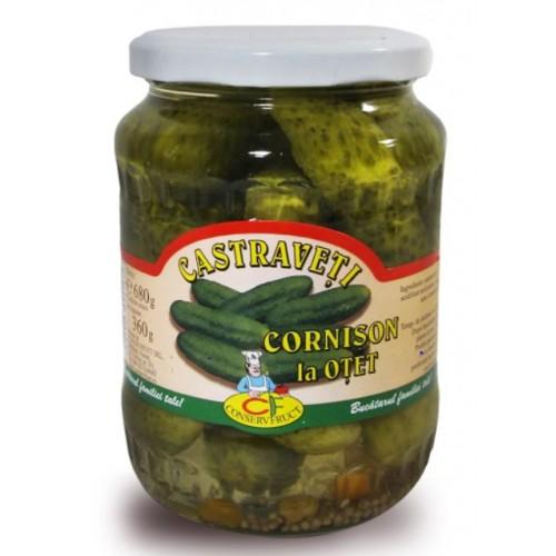 Conservfruct Castraveti in otet 6-9cm 1600g *4