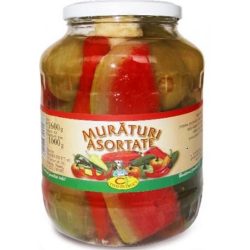 Conservfruct Muraturi asortate 1700ml/1600g/960g *4