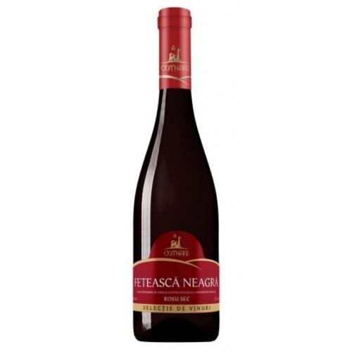 Cotnari Selectie Feteasca Neagra, rosu sec 0.75l *6