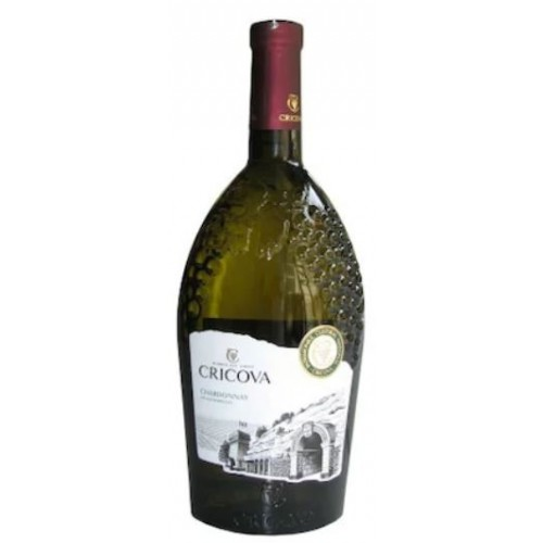 Cricova Podgoria Chardonnay alb demidulce 0.75L *6