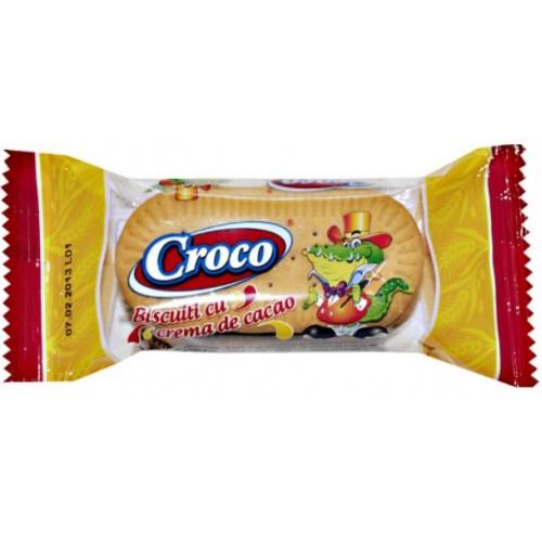 Croco Biscuiti Crema Cacao 32g *88