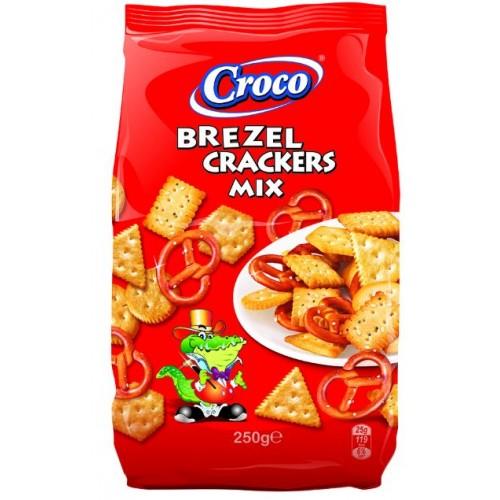 Croco Mix Crackers&Brezel  250g *12