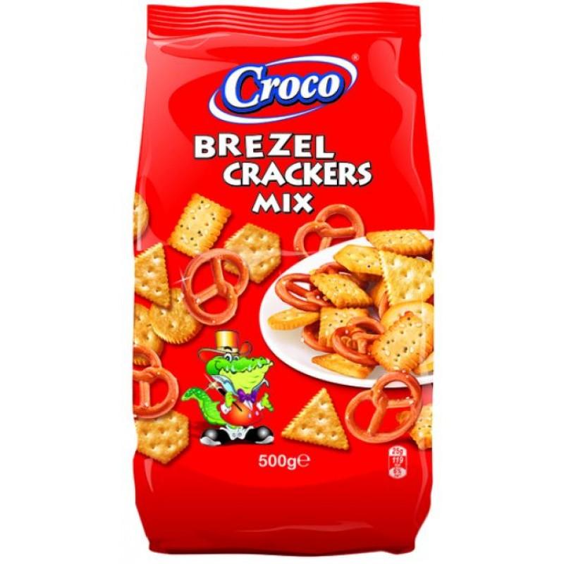 Croco Mix Crackers&Brezel 500g *6