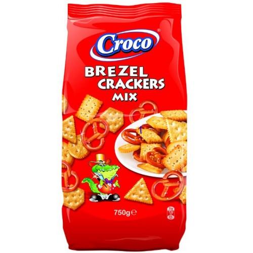 Croco Mix Crackers&Brezel 750g *2