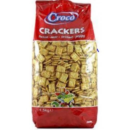 Croco Crackers Sare 1.5kg *2