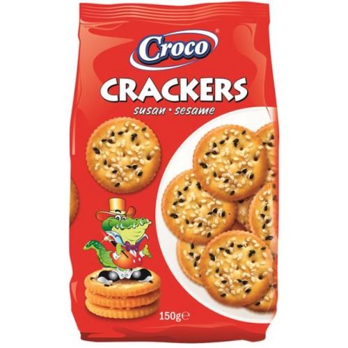 Croco Crackers Susan 150g *12