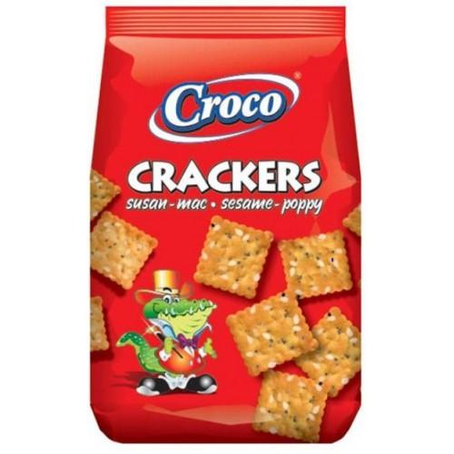 Croco Crackers Susan&Mac 100g *12