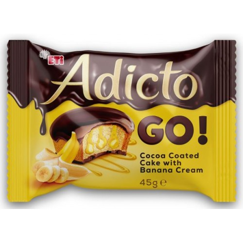 Eti Adicto Go! Banana 45g *24/displ *6