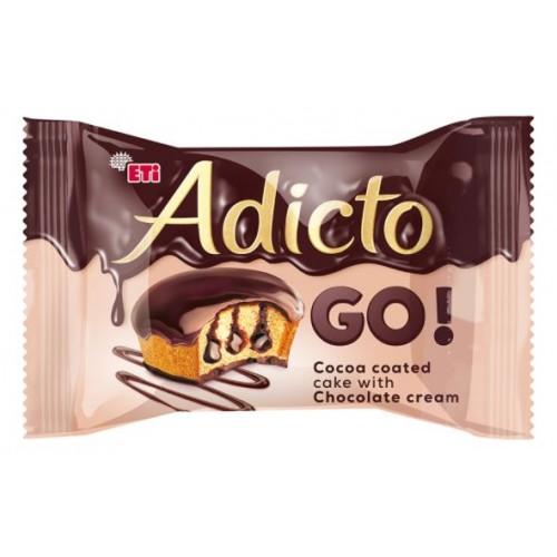 Eti Adicto Go! Chocolate 45g *24/Displ *6
