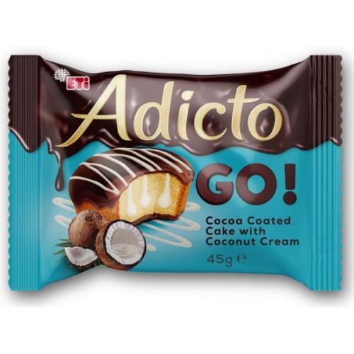 Eti Adicto Go! Coconut 45g *24/Displ *6