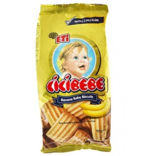 Eti Cicibebe Banana Biscuit 172g *12