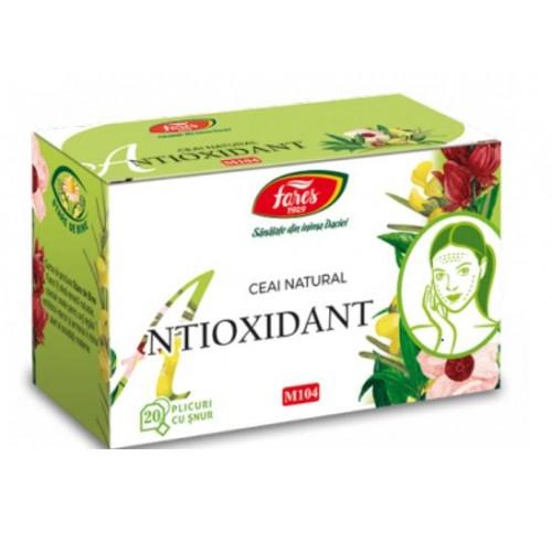 Fares Antioxidant, 20 Pliculete Cu Snur *30