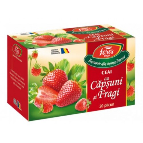 Fares Ceai cu Capsuni si Fragi*30