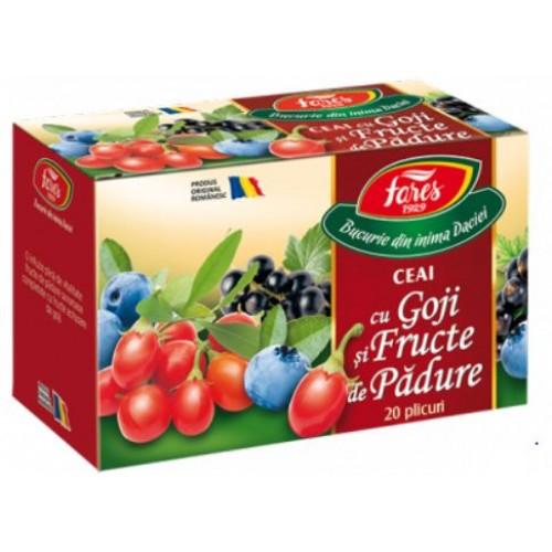Fares Ceai cu Goji si Fructe De Padure *30