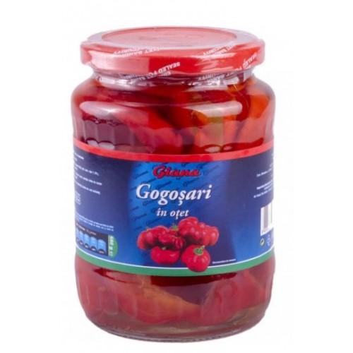 Giana Gogoşari in oţet 720 ml borcan *12