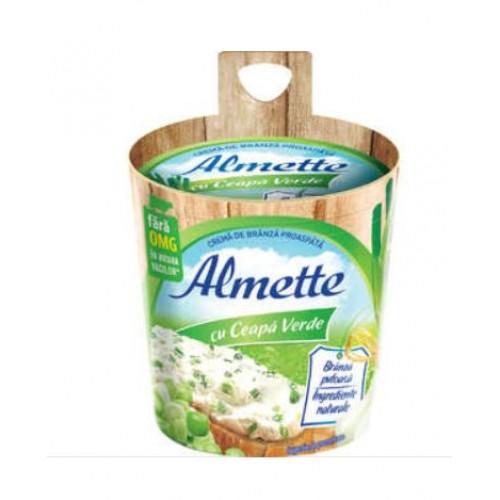 Hochland Almette Crema de branza-ceapa verde 150g *8