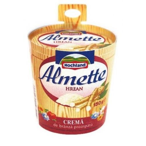 Hochland Almette Crema de branza-hrean 150g *8