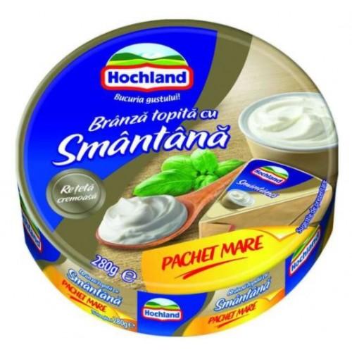 Hochland Branza topita triungh. smantana fam.pack 280g *20