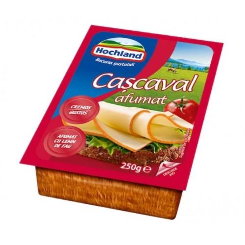 Hochland Cascaval Bloc Afumat 250g *12