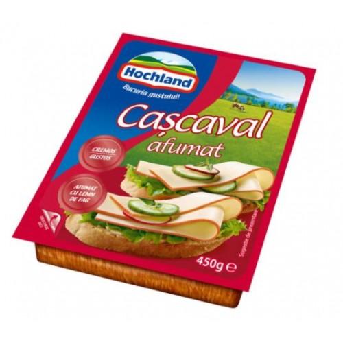 Hochland Cascaval Bloc Afumat 450g  *12