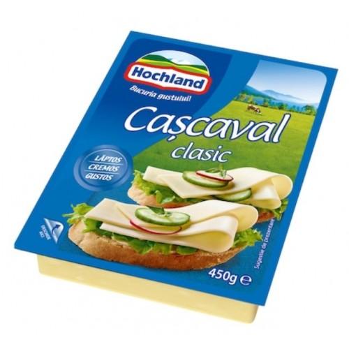 Hochland Cascaval Bloc Clasic 450g *12