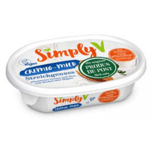 Simply V Crema Natur 150g *6