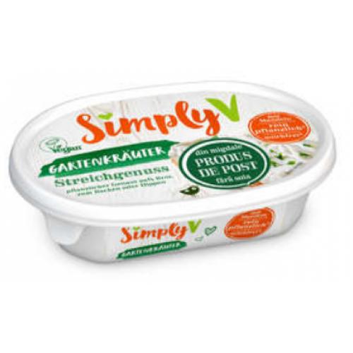 Simply V Crema cu verdeturi 150g *6