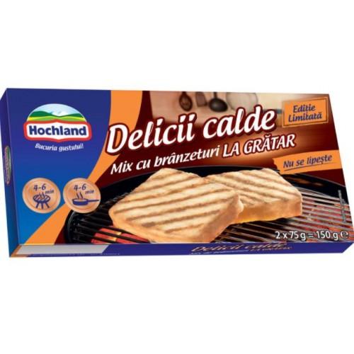 Hochland Mix cu branzeturi La Gratar 150g *8