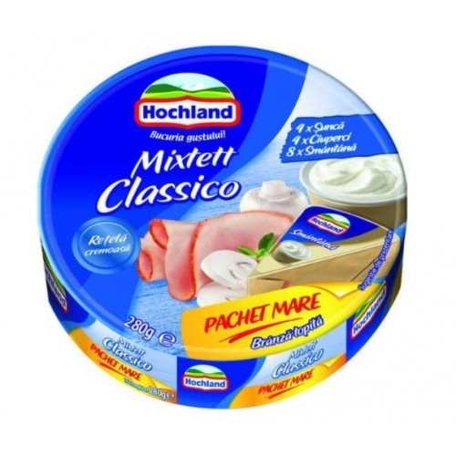 Hochland Branza topita triungh. mixtett classico fam.pack 280g *20