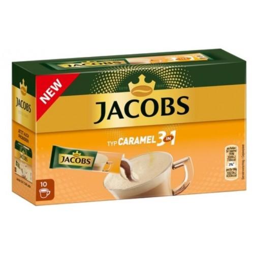 Jacobs 3in1 Caramel 16.9g  *10 displ
