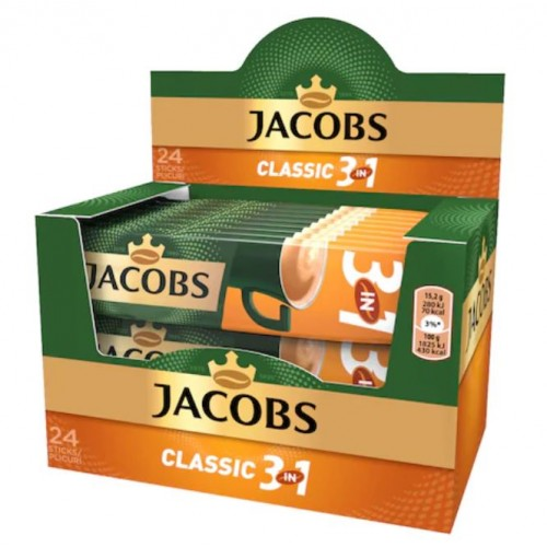 Jacobs 3in1 Clasic 15.2g *24 displ