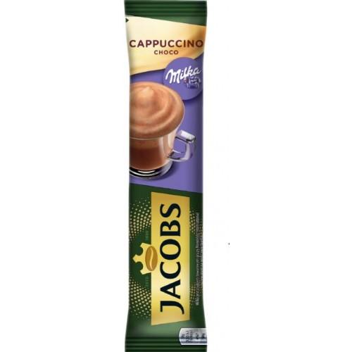 Jacobs Capuccino Milka 18g *8 displ